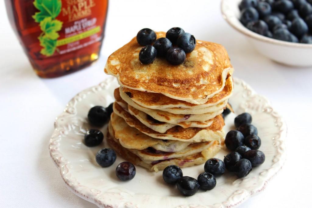 Pancakes z jagodami 1
