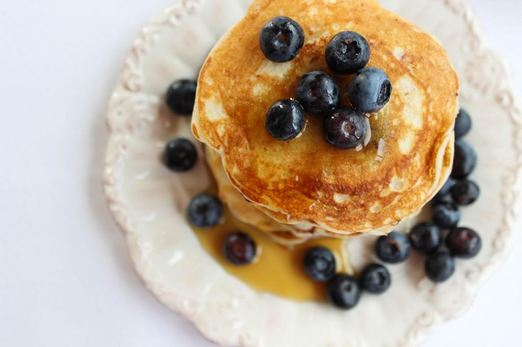 Pancakes z jagodami 3