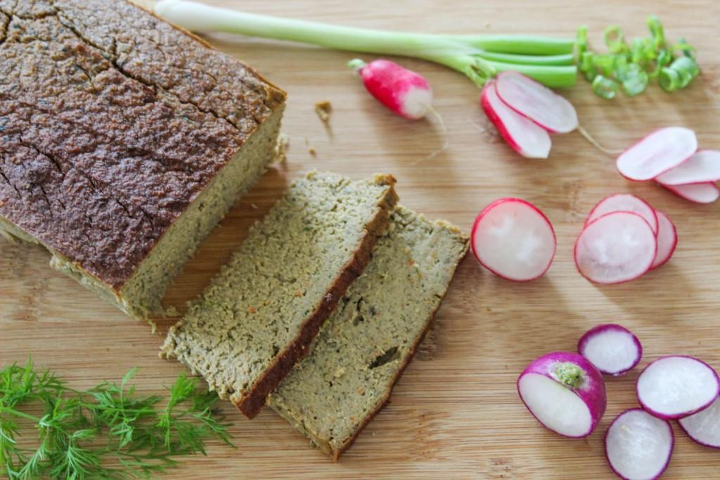 Pasztet z soi i pieczonych warzyw 1