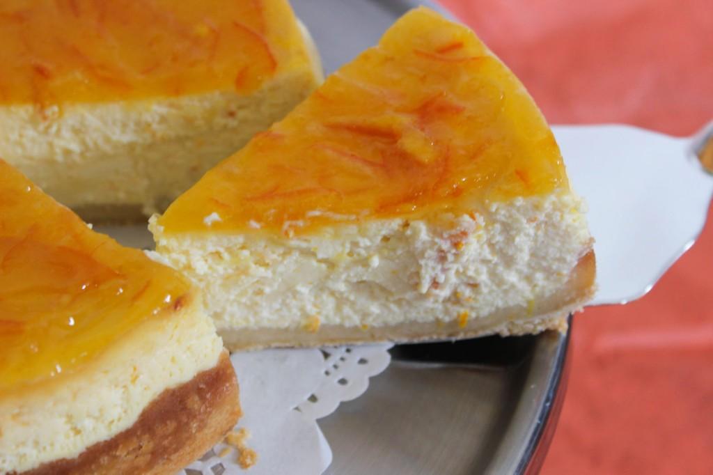 Sernik pomarańczowy 3