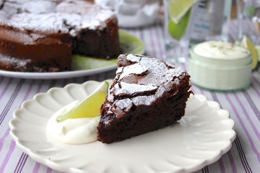 Ciasto czekoladowo-limonkowe 3