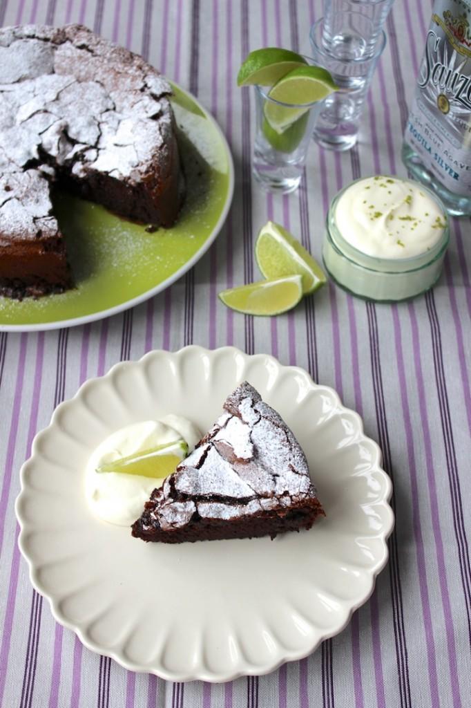Ciasto czekoladowo-limonkowe 2