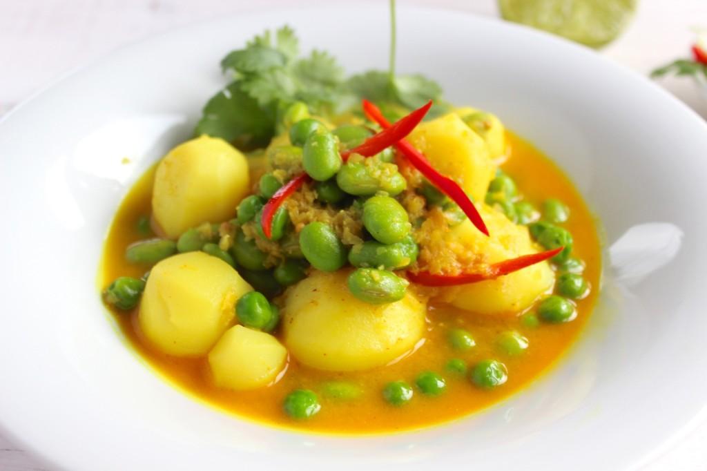 Curry z ziemniakami 1