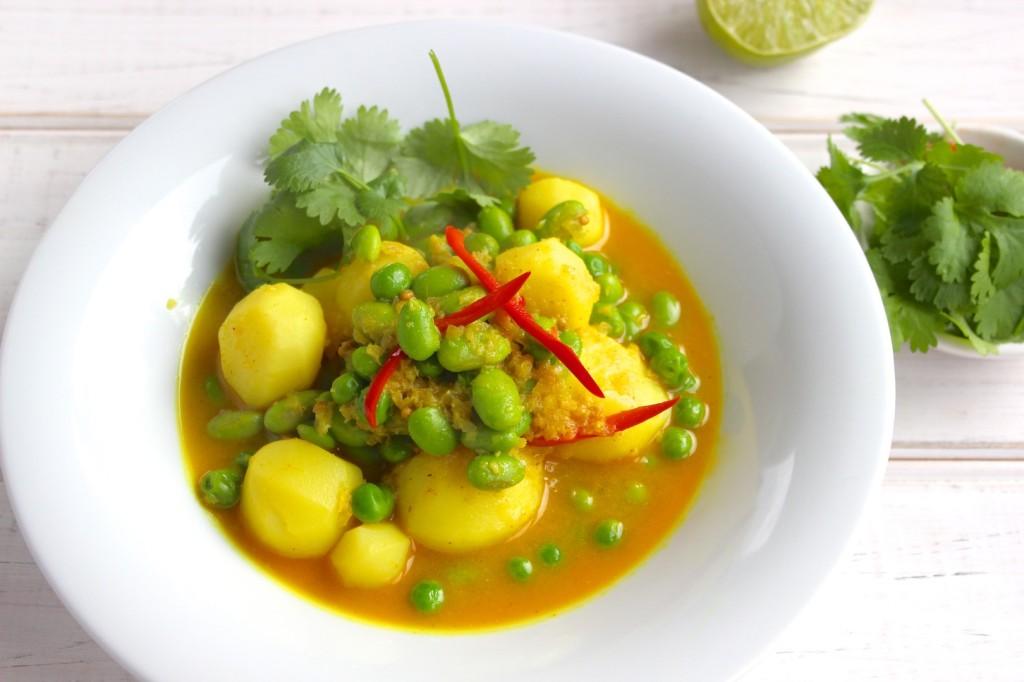 Curry z ziemniakami 2