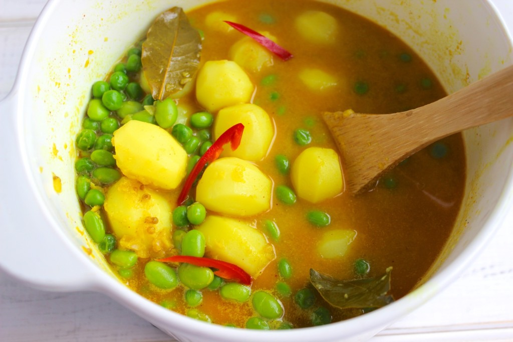 Curry z ziemniakami 3