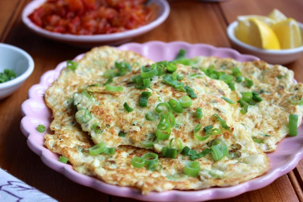 Omlety z tofu i szczypiorkiem 3