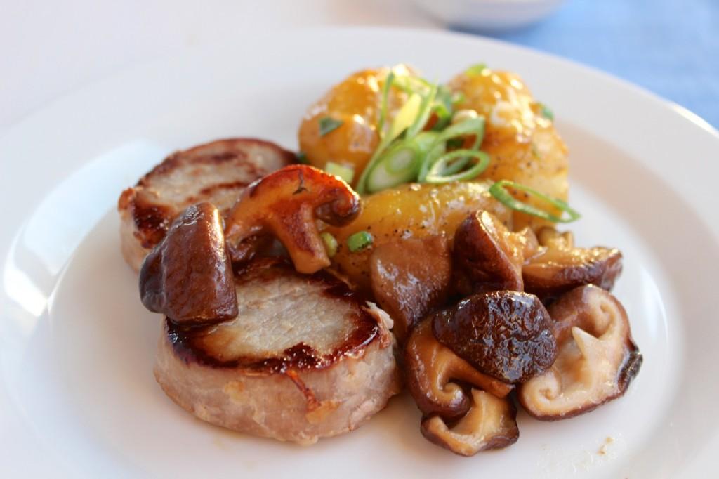 Polędwiczka wieprzowa z grzybami 2