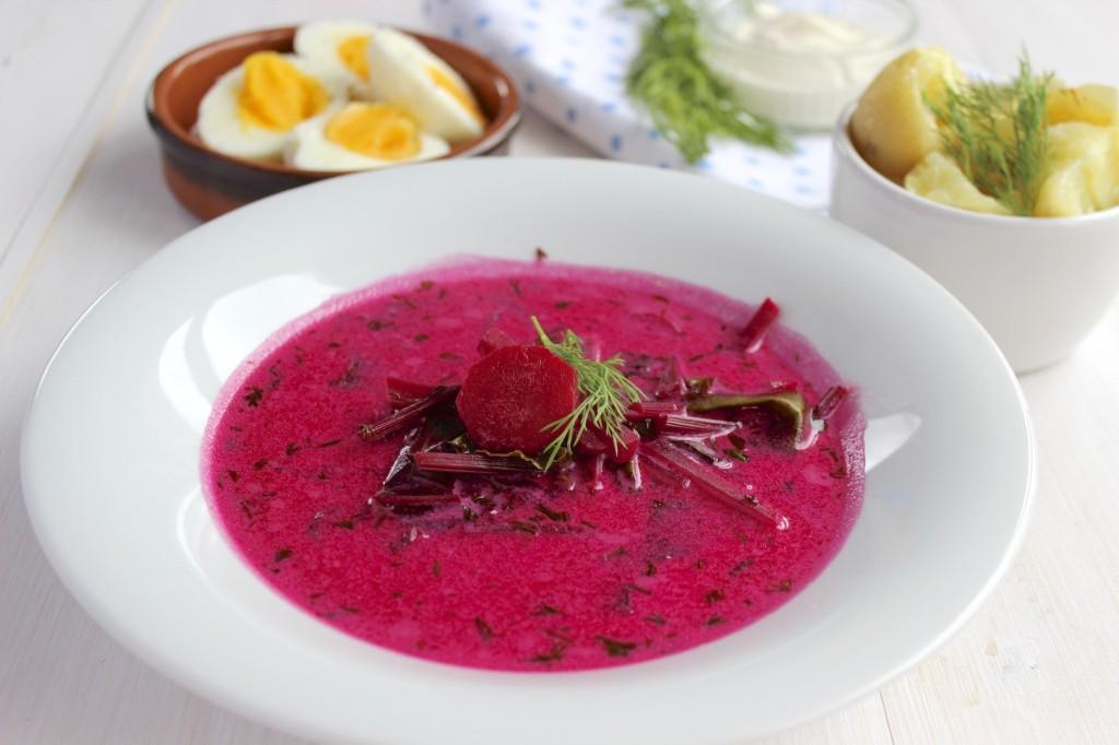 Zupa botwinkowa 1
