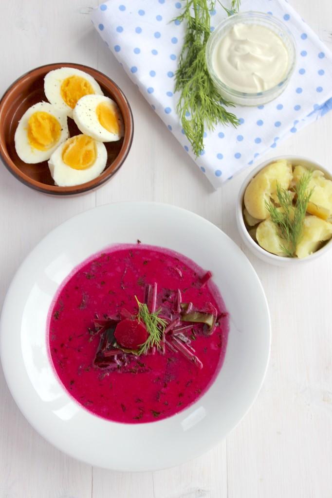 Zupa botwinkowa 2