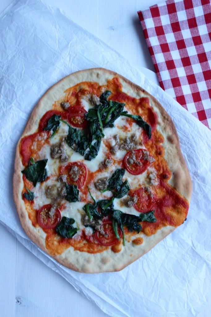 Cienka i chrupiąca pizza 2