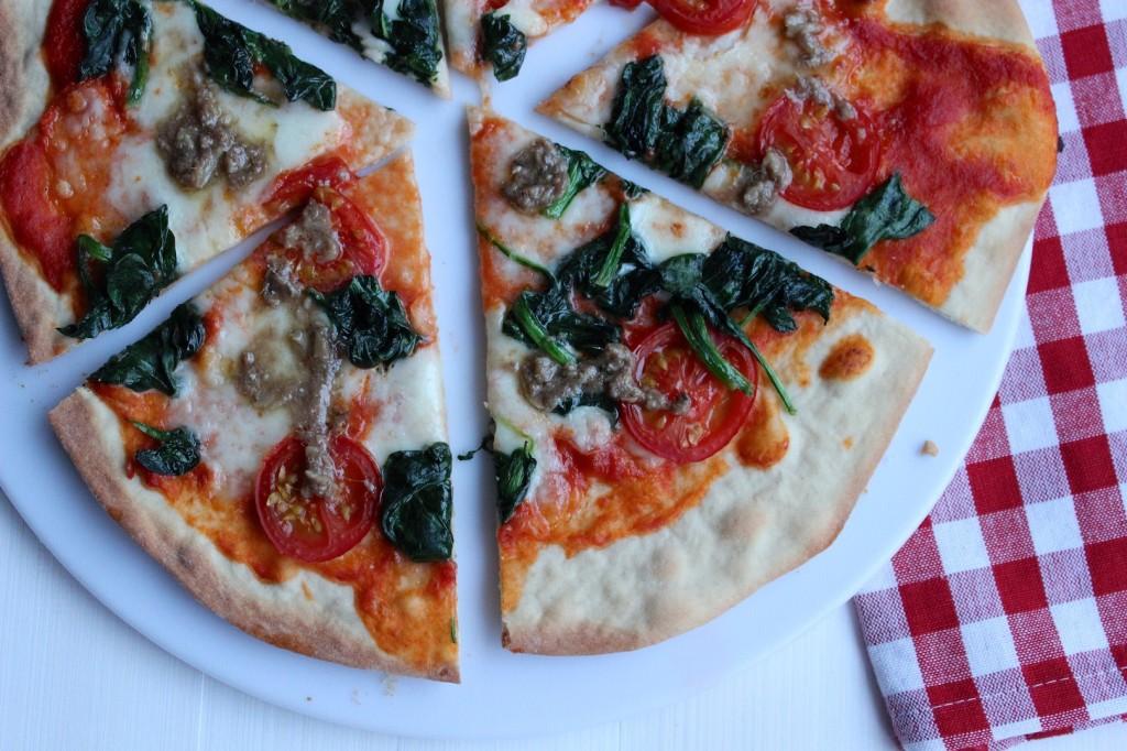 Cienka i chrupiąca pizza 3