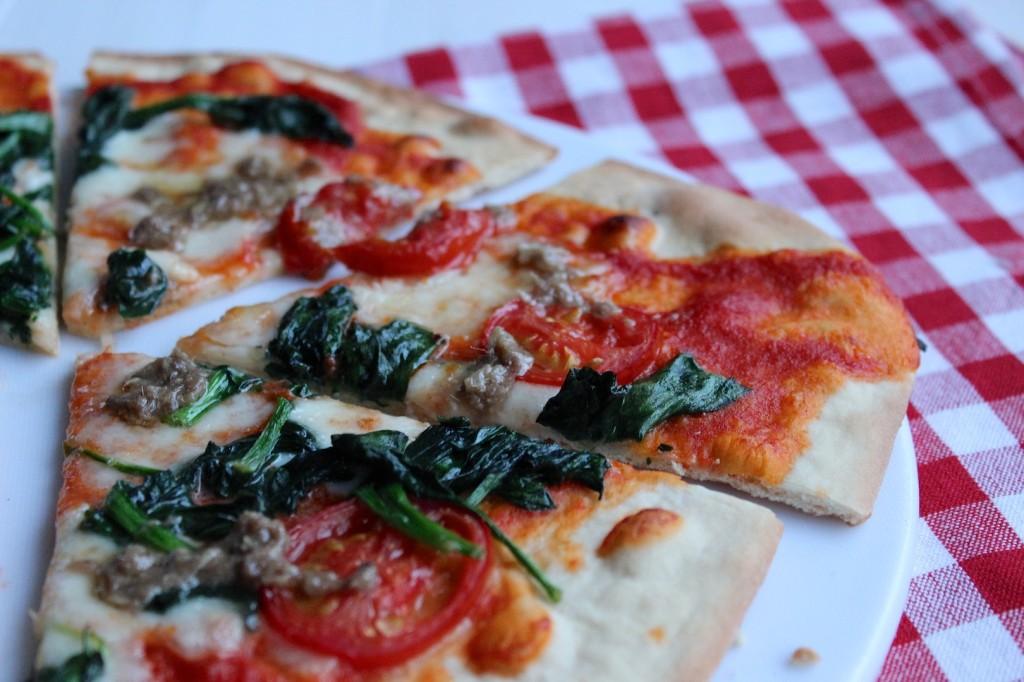 Cienka i chrupiąca pizza 4