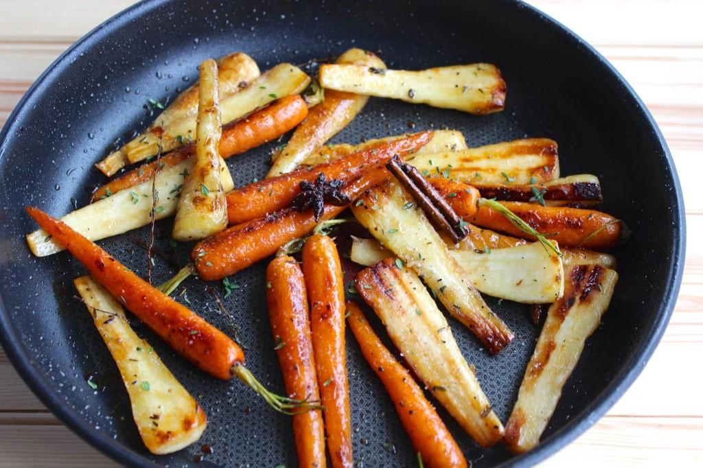Glazurowane warzywa 3