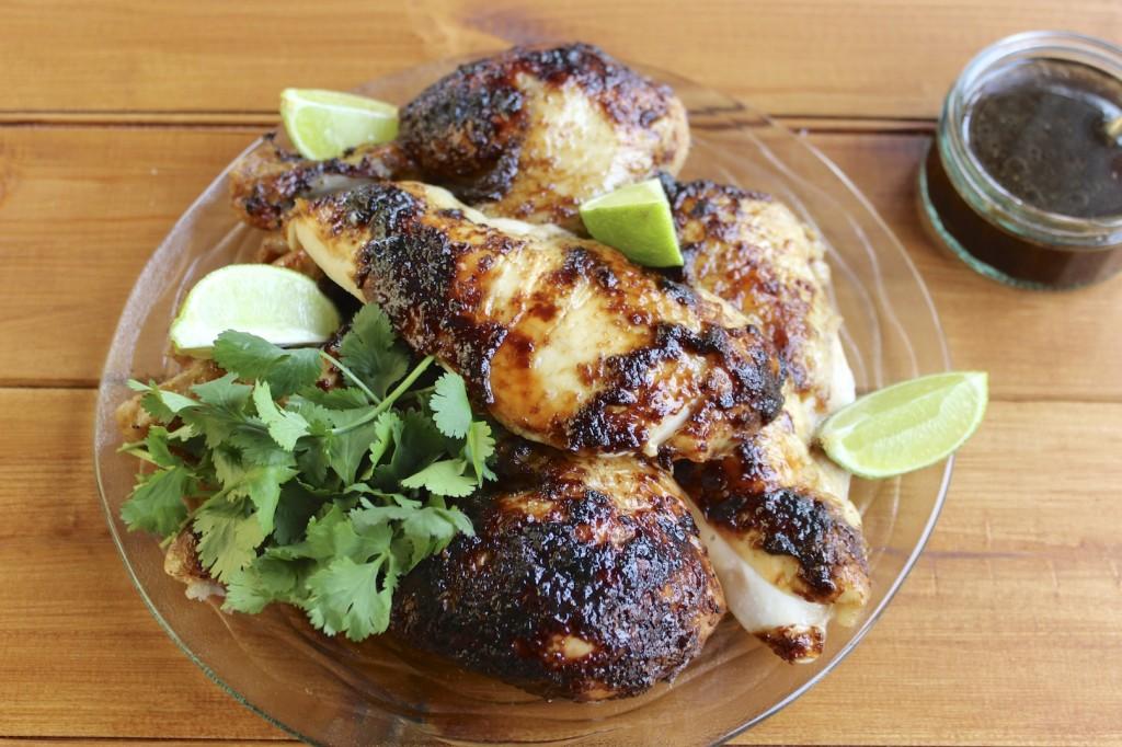 Glazurowany kurczak 1