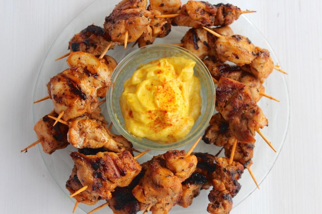 Mini szaszłyczki z kurczaka 1