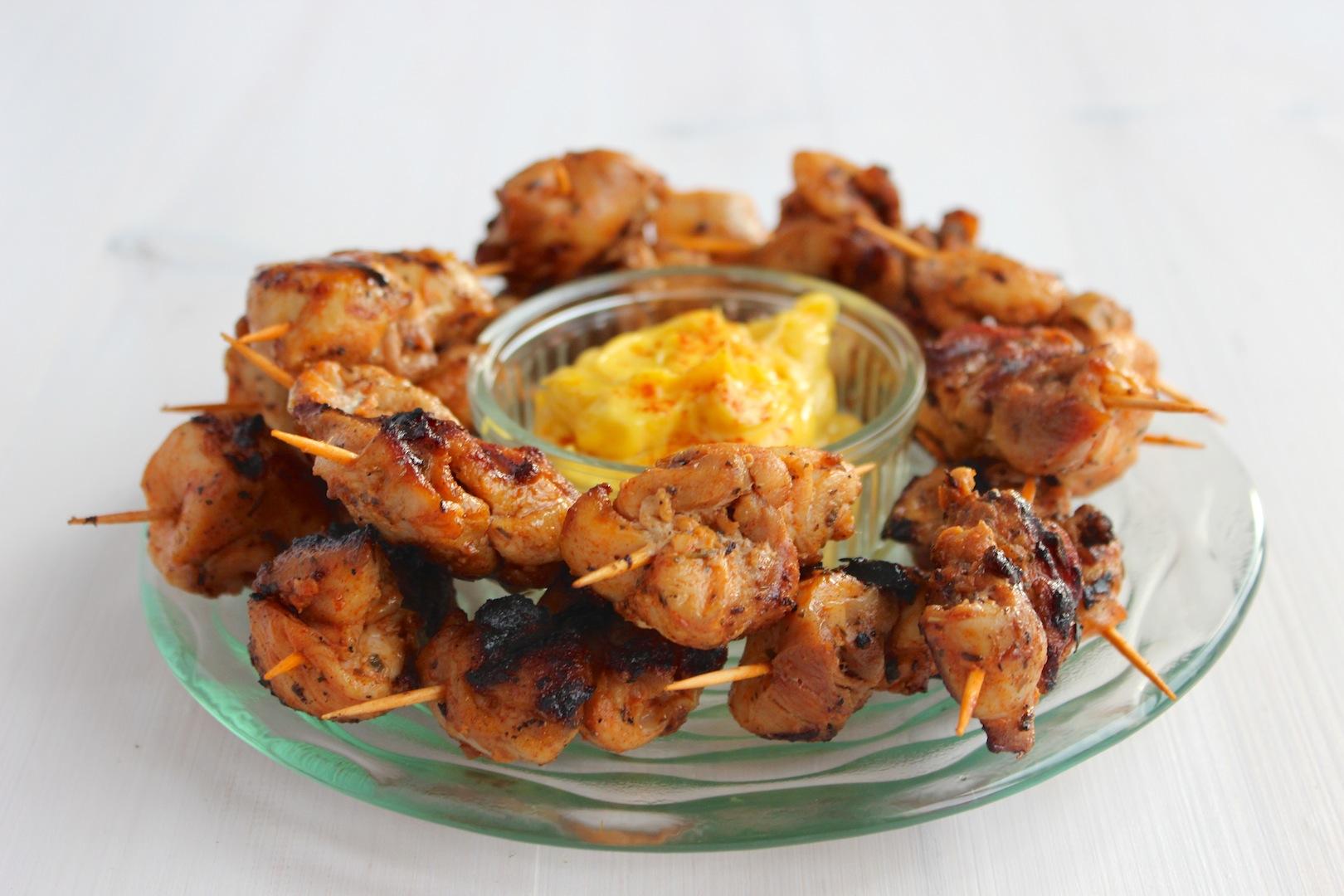 Mini szaszłyczki z kurczaka 2