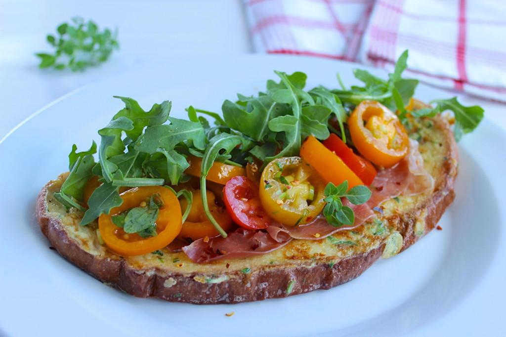Francuskie tosty w wersji wytrawnej 1