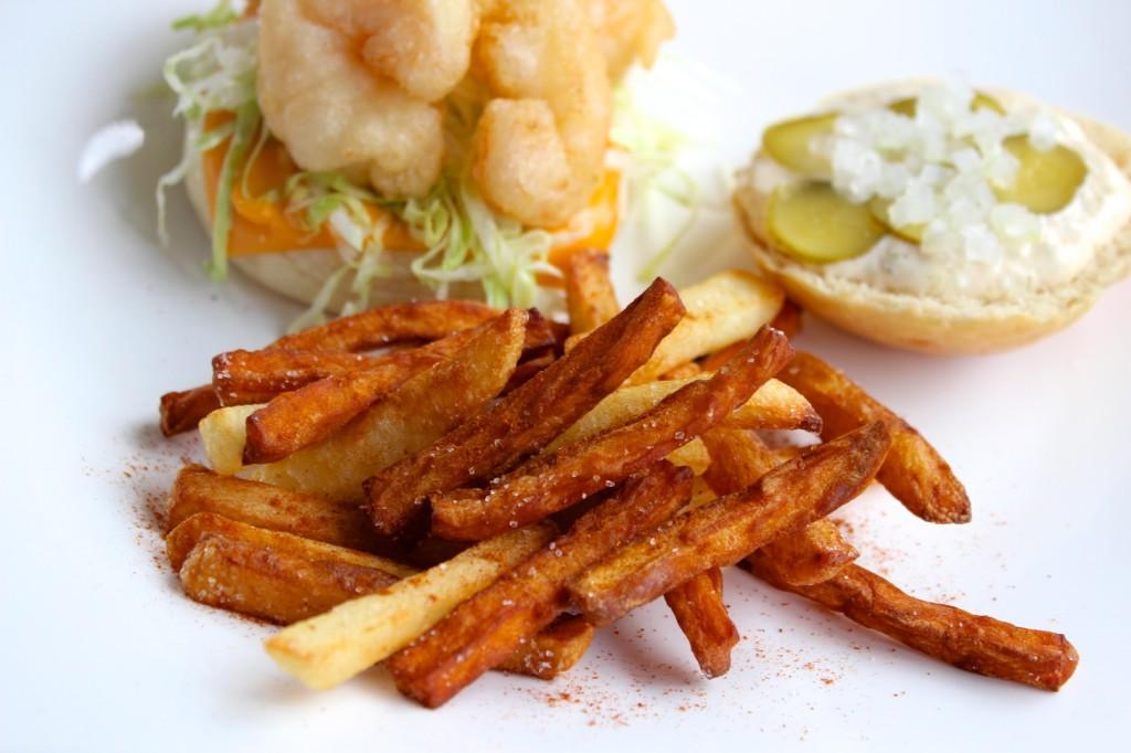 Frytki ze słodkiego ziemniaka 1