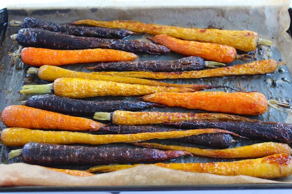 Marchewka pieczona w miodzie z pieprzem cayenne 1
