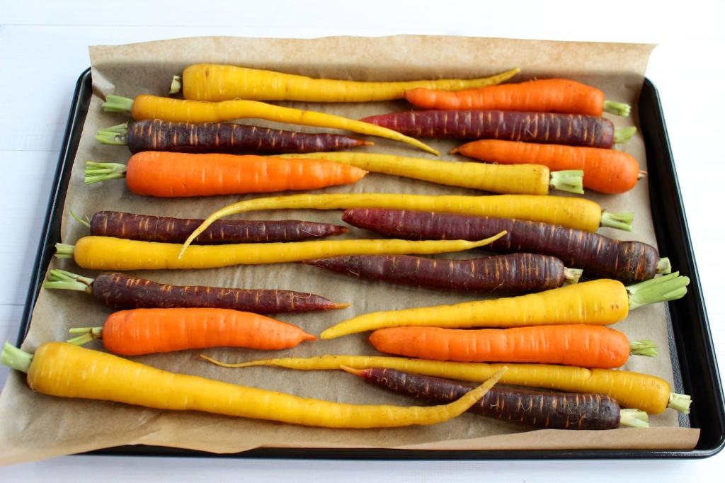 Marchewka pieczona w miodzie z pieprzem cayenne 3