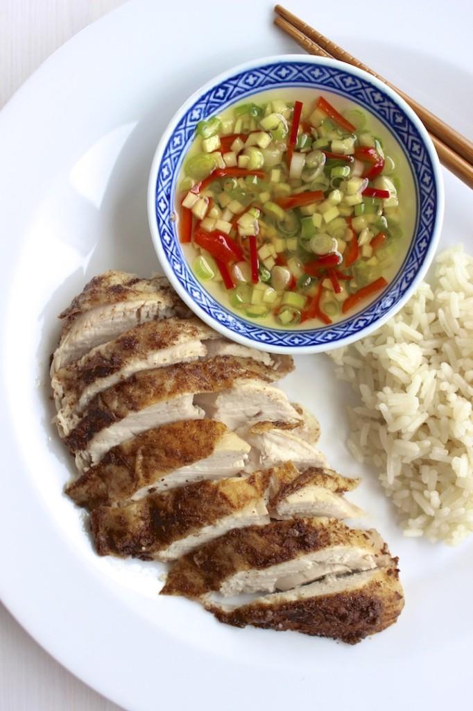 Podwójnie gotowany kurczak po chińsku 2