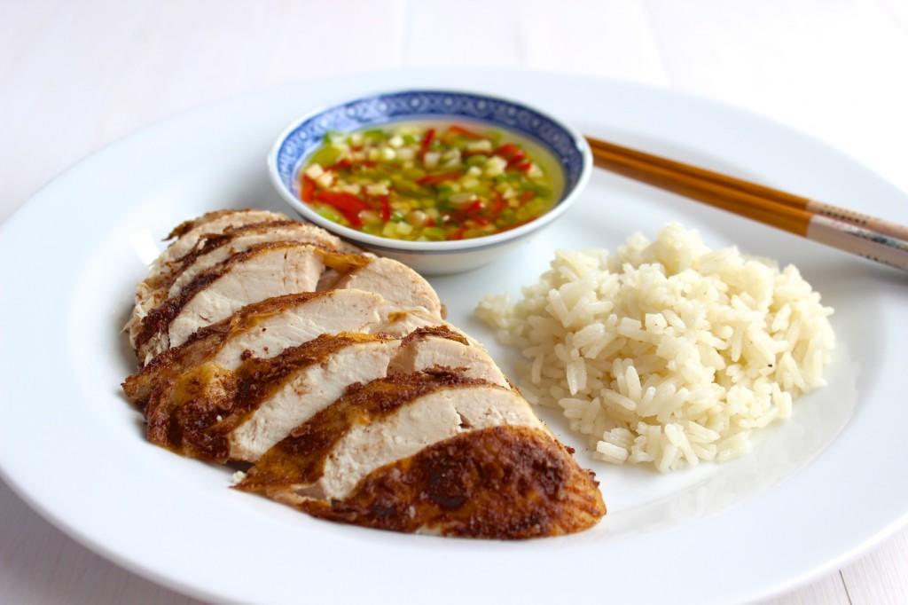 Podwójnie gotowany kurczak po chińsku 1