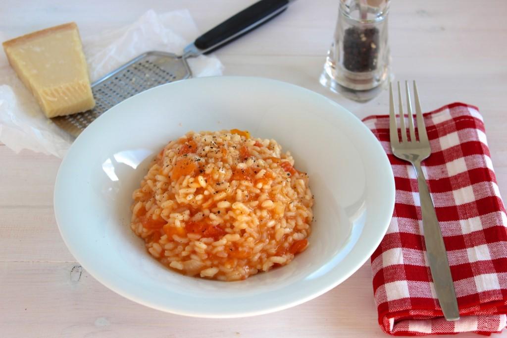 Risotto z pomidorami 1