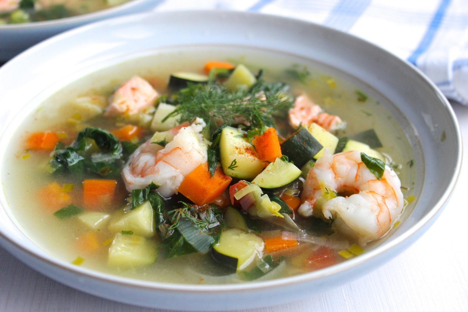 Zupa rybna z warzywami 3