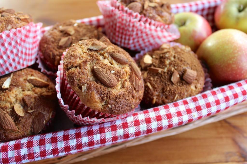 Cynamonowe muffinki z jabłkami 1