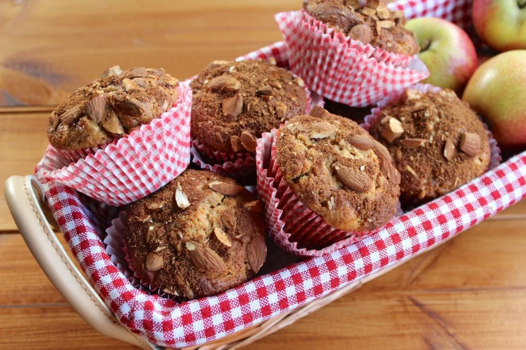 Cynamonowe muffinki z jabłkami 2