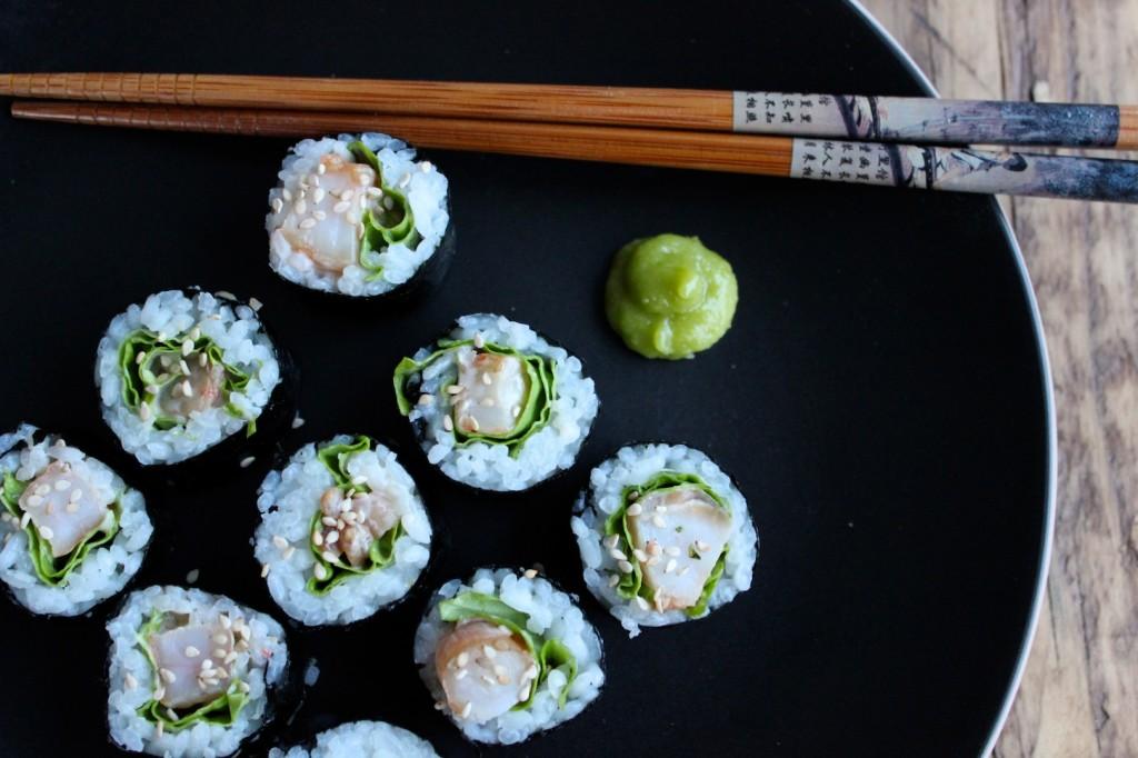 Sushi z krewetkami 1