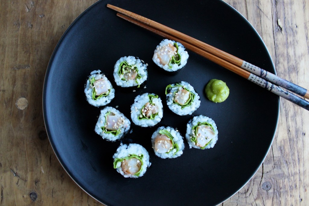 Sushi z krewetkami 2