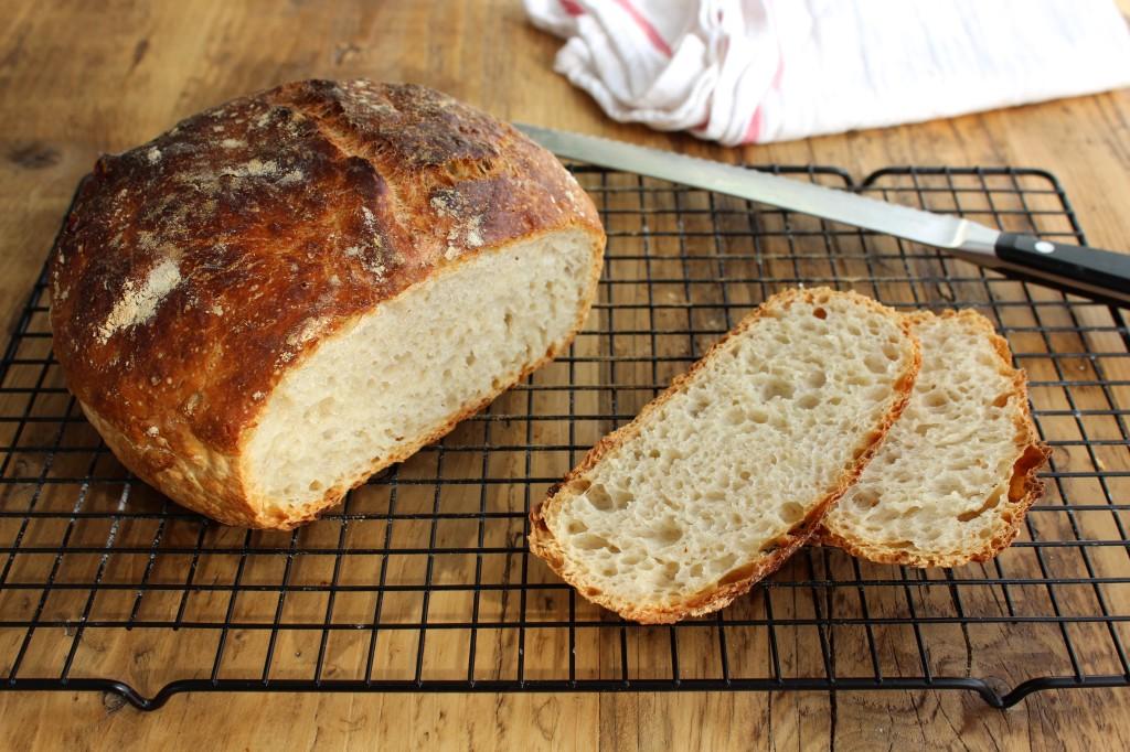 Chleb bez wyrabiania 1