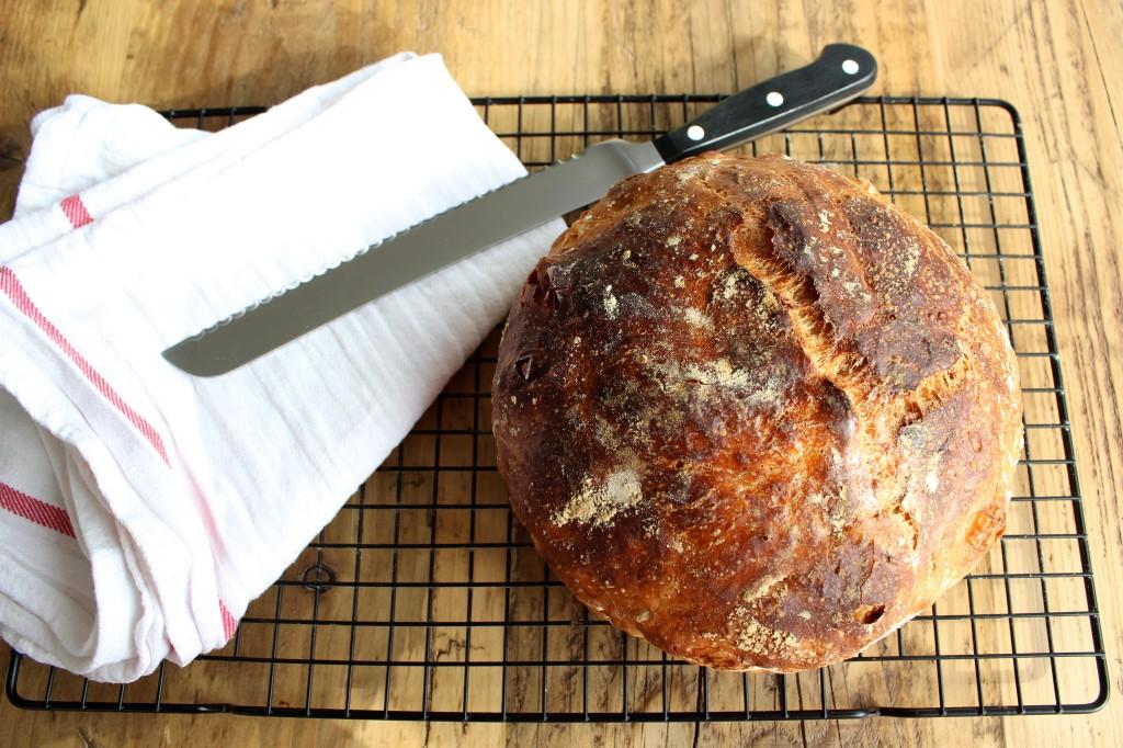 Chleb bez wyrabiania 2