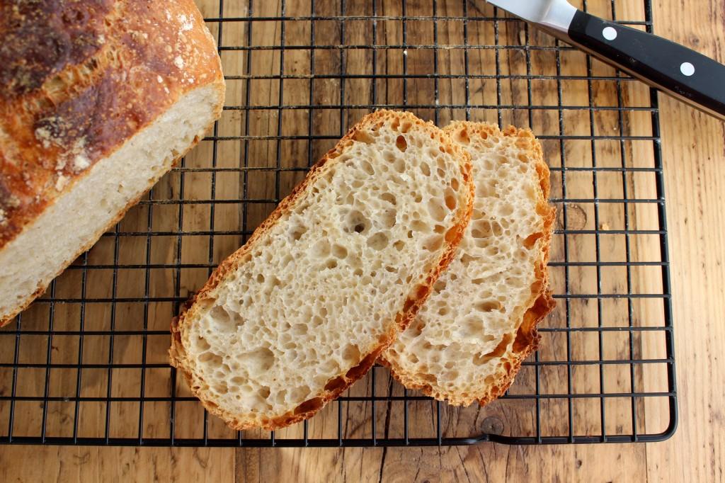 Chleb bez wyrabiania 3
