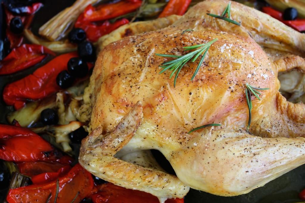 Kurczak pieczony z papryką 2