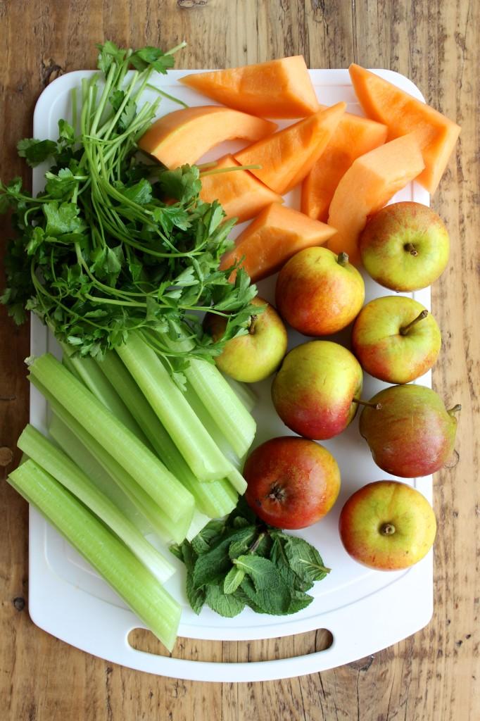 Sok z jabłek, selera i melona 2