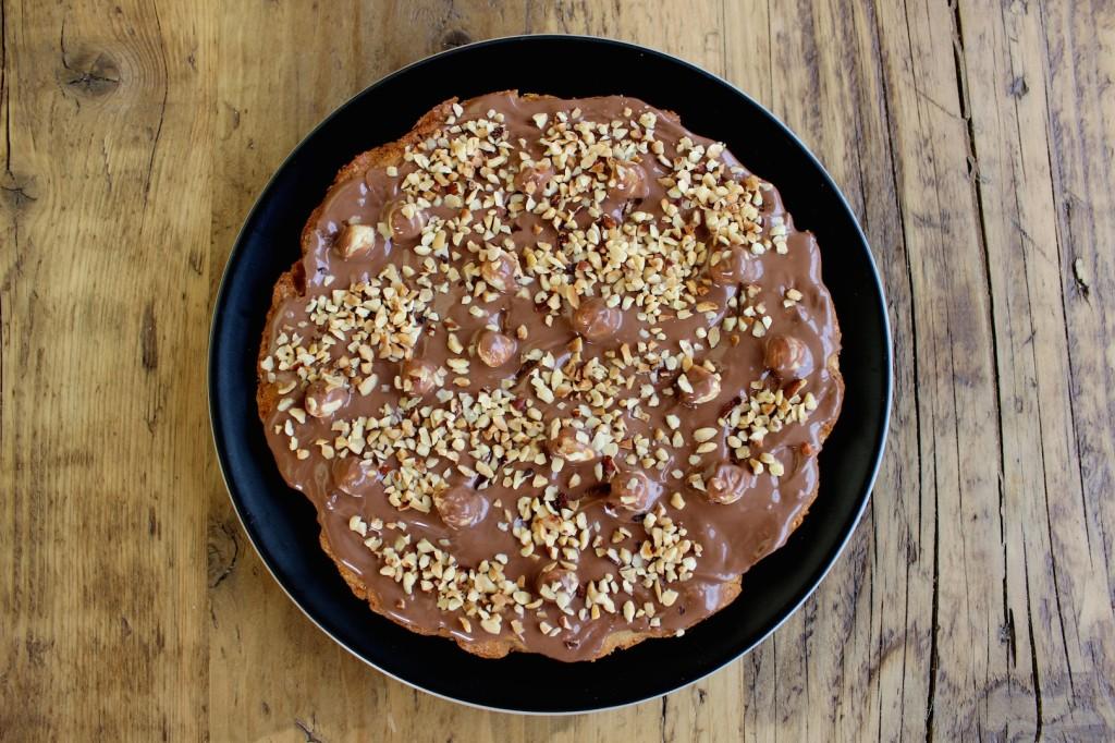 Mazurek czekoladowo-orzechowy 2