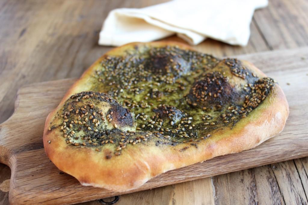 Manakish – Libański flatbread 2