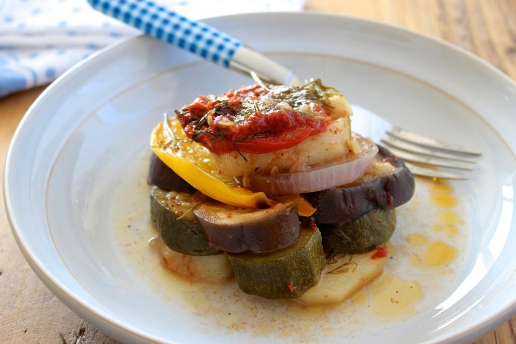 Briam - grecka zapiekanka warzywna 1