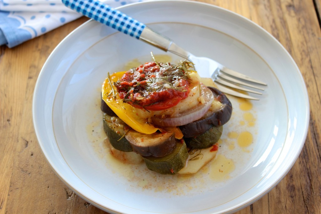 Briam - grecka zapiekanka warzywna 2