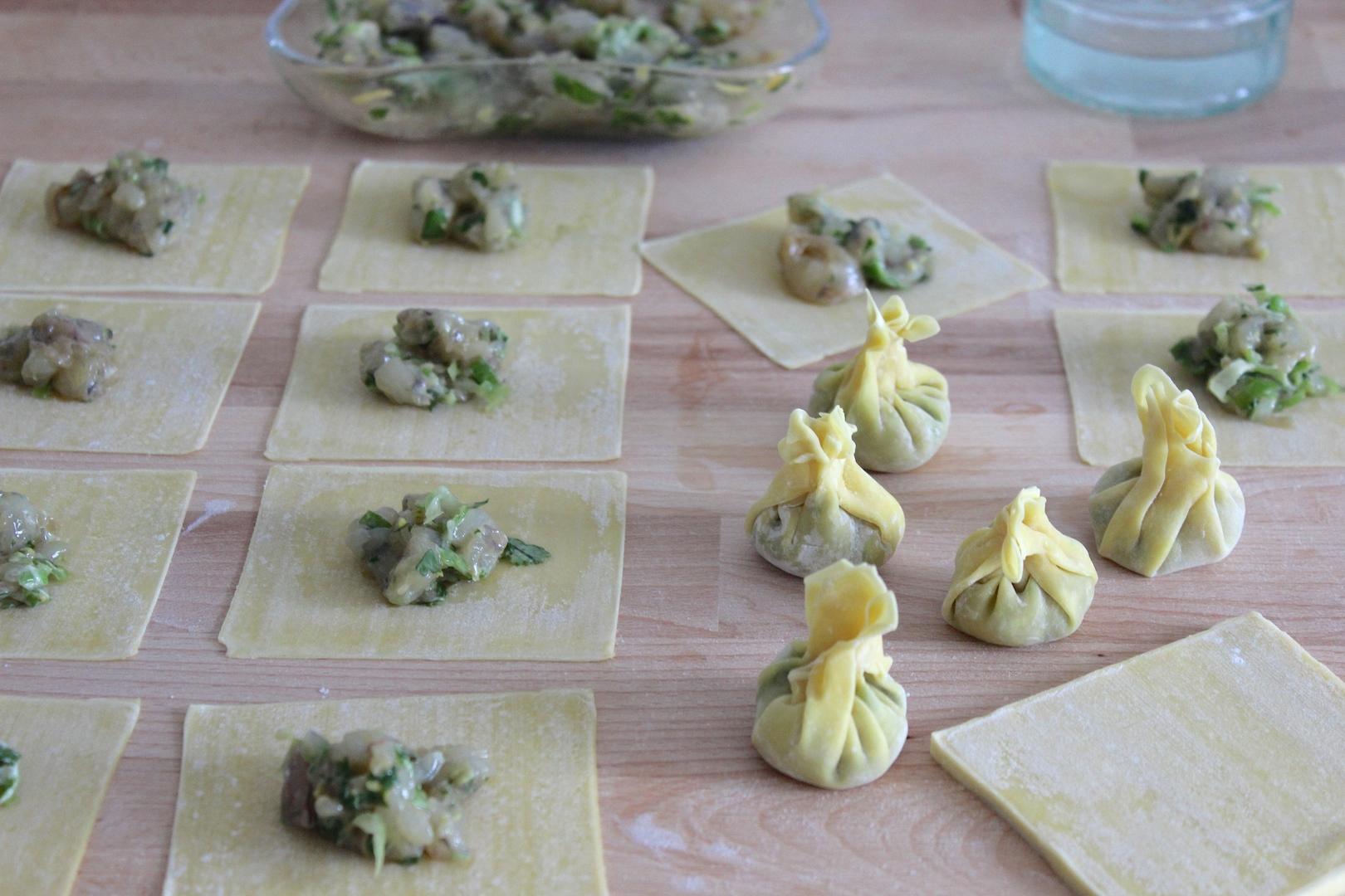 Pierogi Wontons Recipe — Dishmaps