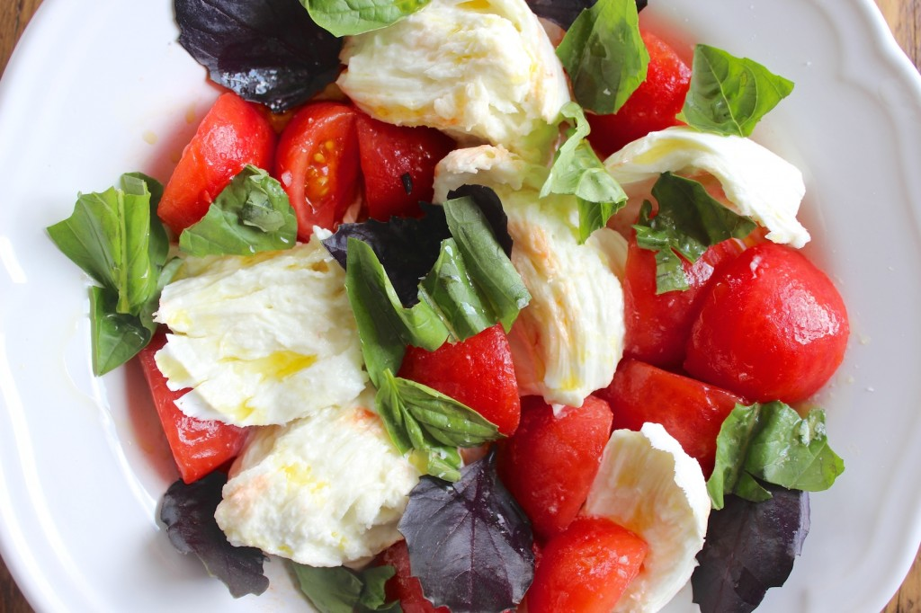 Caprese – Mozzarella z pomidorami 3