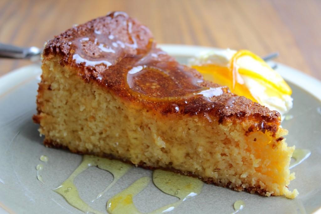 Ciasto pomarańczowo-migdałowe, bez tłuszczu 1