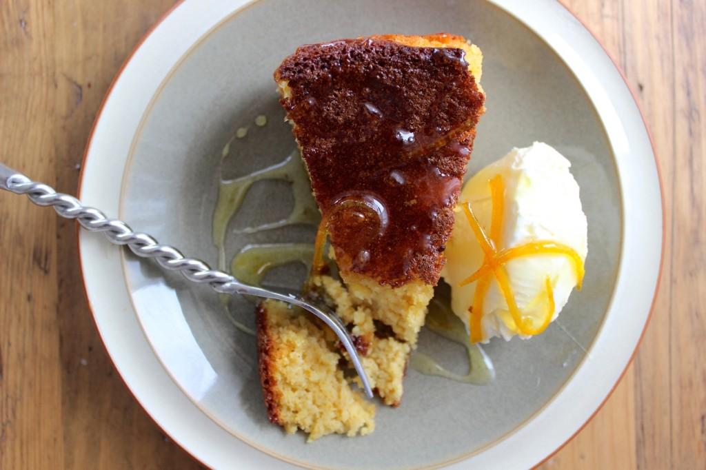 Ciasto pomarańczowo-migdałowe, bez tłuszczu 2