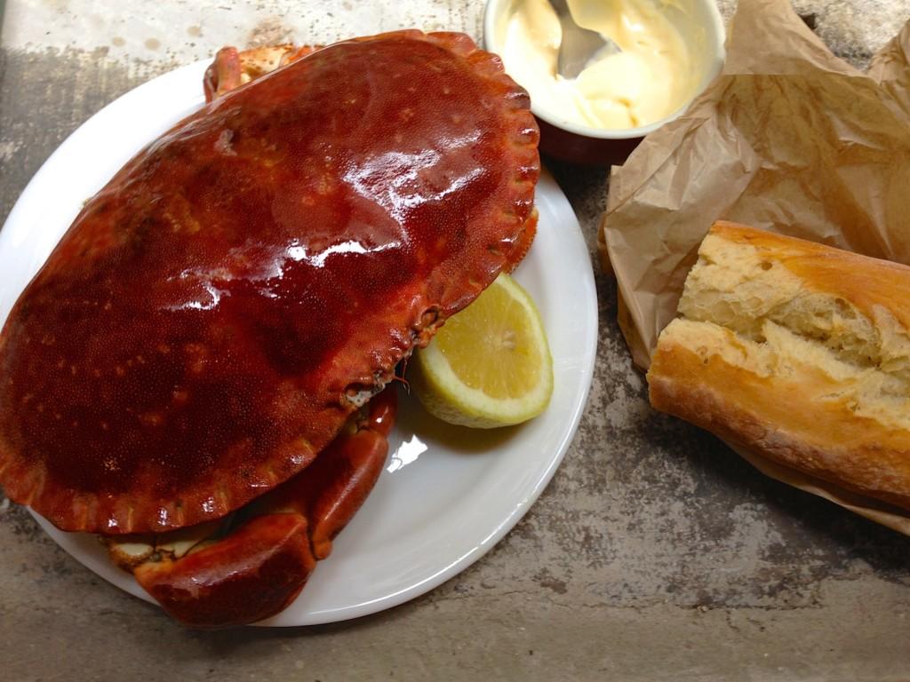 Gotowany krab - podany na zimno 1