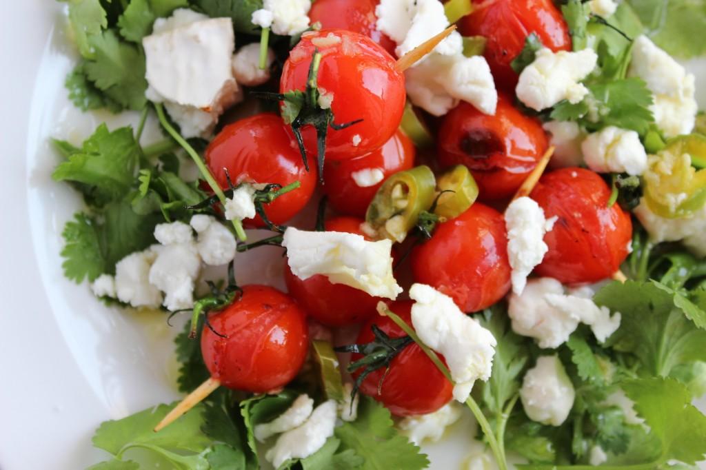 Grillowane pomidorki z serem kozim 3