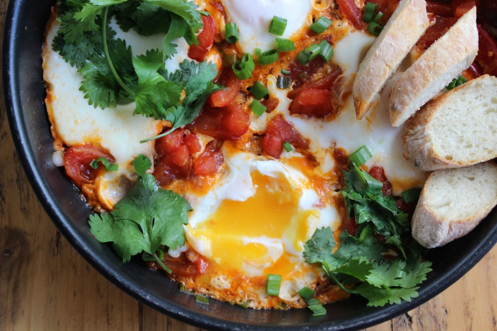 Shakshouka – Jajka  w pomidorach 2