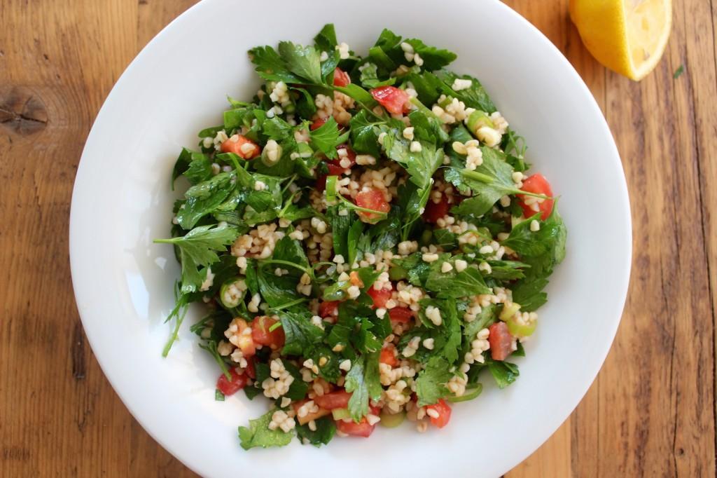 Tabbouleh – Sałatka z bulguru i pomidorów 1