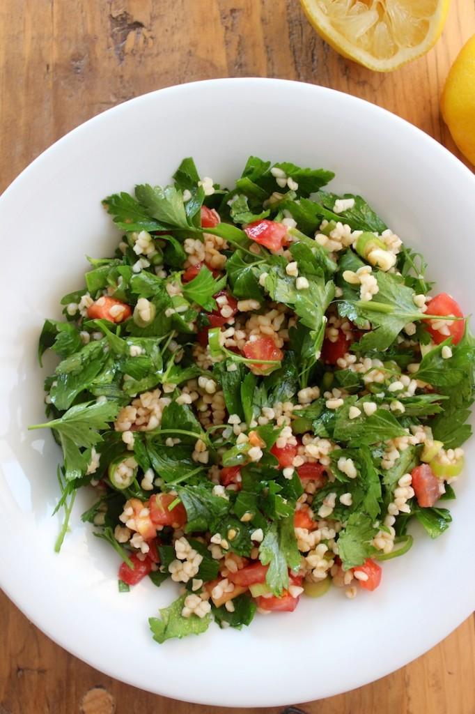 Tabbouleh – Sałatka z bulguru i pomidorów 2